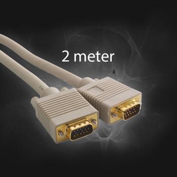 SVGA Kabel 2 m. M/M