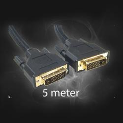 DVI->DVI monitor 5m Kabel