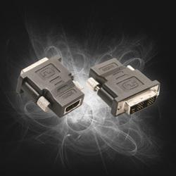 HDMI F -> DVI-D M Adapter