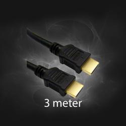 HDMI -> HDMI  3M kabel
