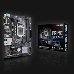 Asus B360M-K Prime bundkort