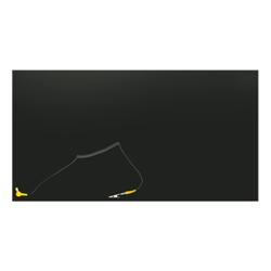 ESD Anti-statisk bordmåtte i sort