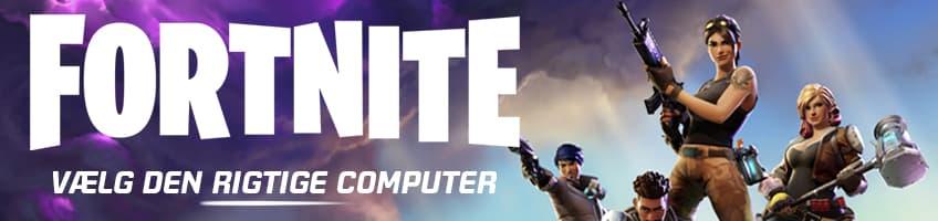 Stærke gaming computere til Fortnite