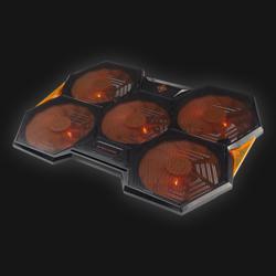 Deltaco gaming Laptop cooler 17,3