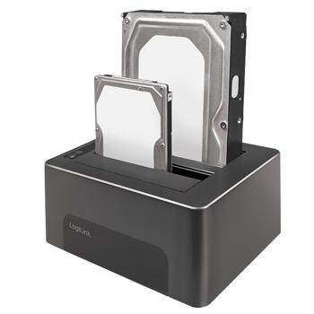 LogiLink 2-disk Docking Station Sata HDD USB 3.1 gen 2