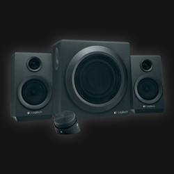 Logitech Z333 2.1 højtalersæt 40W RMS
