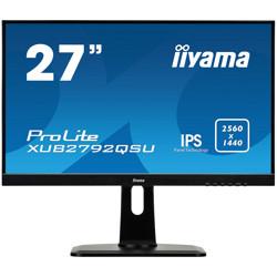 27'' Iiyama ProLite XUB2792QSU Professionel - QHD - IPS - Højdejusterbar