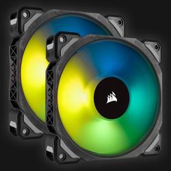 Corsair ML120 Pro RGB LED blæser 2-pack BULK