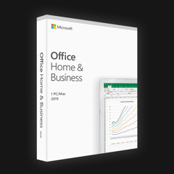 Office Home & Business 2019 (Word,Excel,Powerpoint,OneNote,Outlook)
