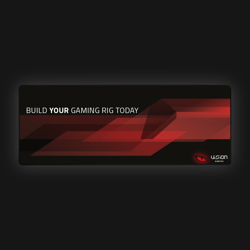 Vision VG3000 Gaming Musemåtte (XL)