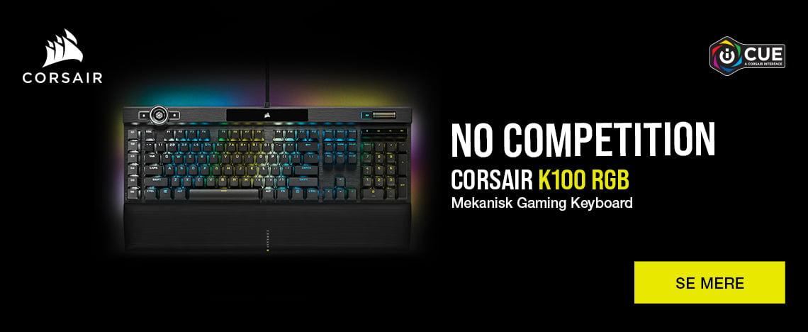Corsair K100 mekanisk gaming keyboard