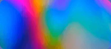 Regnbue farver