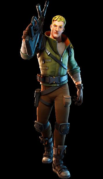 Karakterer fra Fortnite