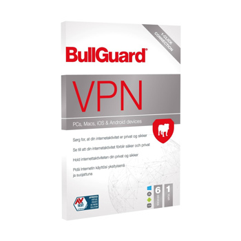 BullGuard VPN - 1 år