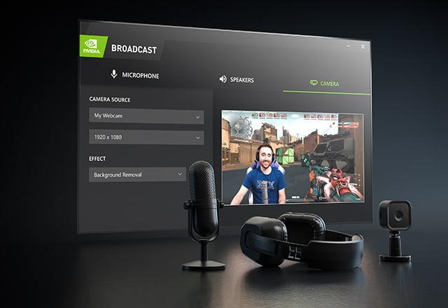 Nvidia Broadcast software