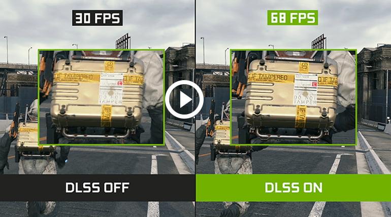 Videodemonstration af den imponerende DLSS-teknologi