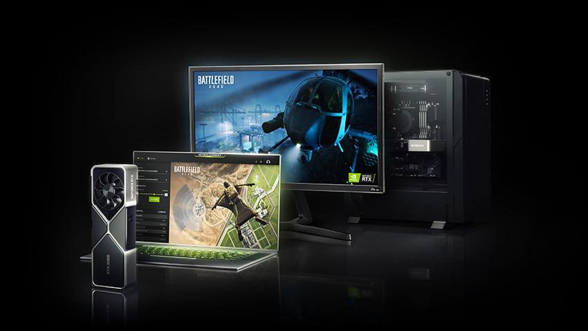 Gaming computer til Battlefield 2042