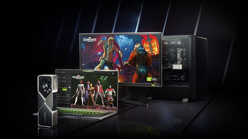 Gaming computer til Marvel's Guardians of the Galaxy