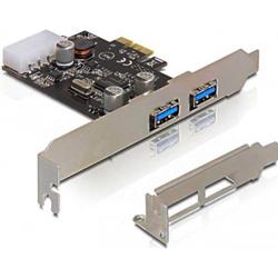 DeLock SX-205 PCI-E kort med 2x USB 3.0 porte