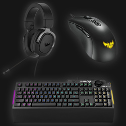 Asus TUF Gaming Bundle (keybord, mus og headset)