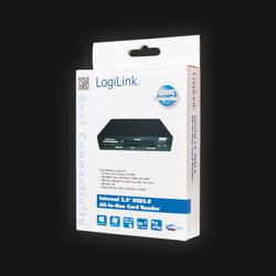 Kortlæser Intern 3.5'' USB 2.0