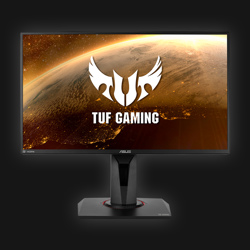 "25"" Asus VG259QR TUF - FullHD - IPS - 1ms - 165Hz Gaming - G-Sync comp."