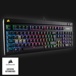 Corsair Refurbished Strafe RGB MX Red Mekanisk Gaming Keyboard