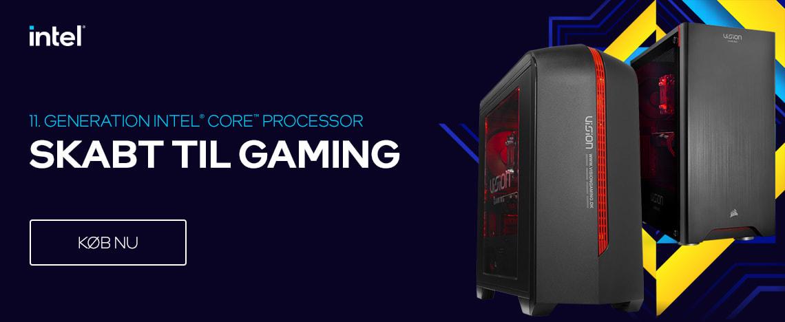 Gaming PC med 11. Generation Intel Core processor