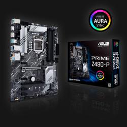 Asus Z490-P Prime bundkort
