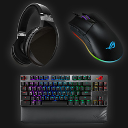 Asus ROG Gaming Bundle (keybord, mus og headset)