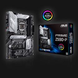 Asus Z590-P Prime bundkort