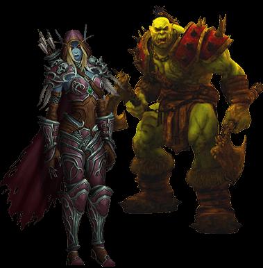 2 spillere sammen i World of Warcraft
